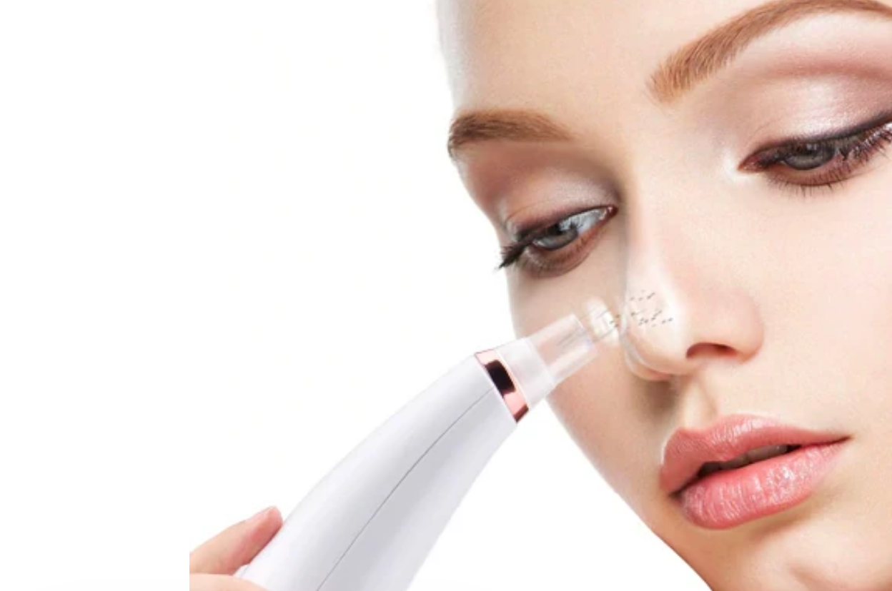 Inalux Beauty | Removing blackheads from nose