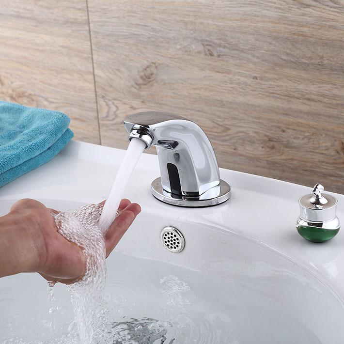 Vòi rửa tay cảm ứng tự động cao cấp HD503A