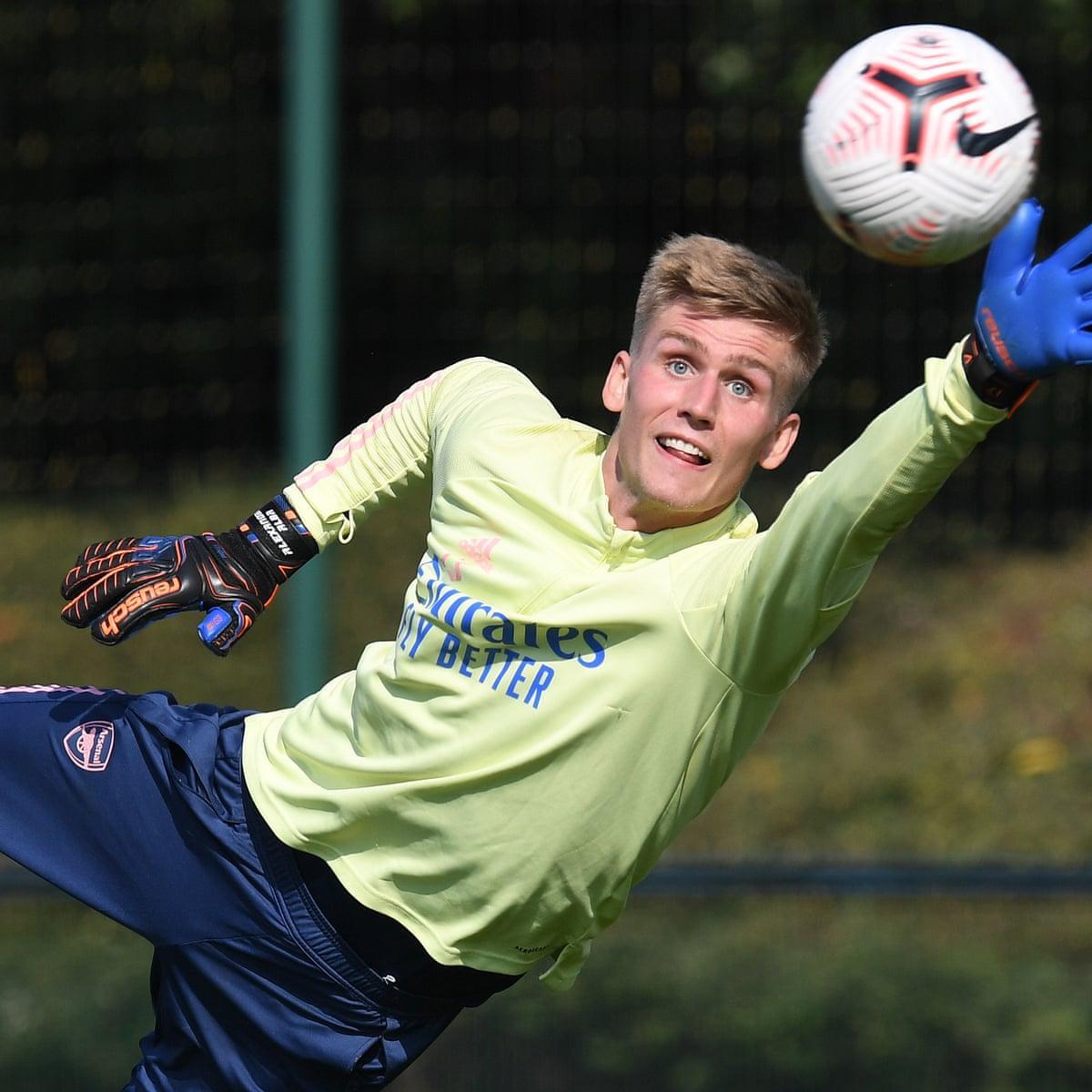 Arsenal sign Iceland goalkeeper Alex Rúnarsson from Dijon   Football   The  Guardian