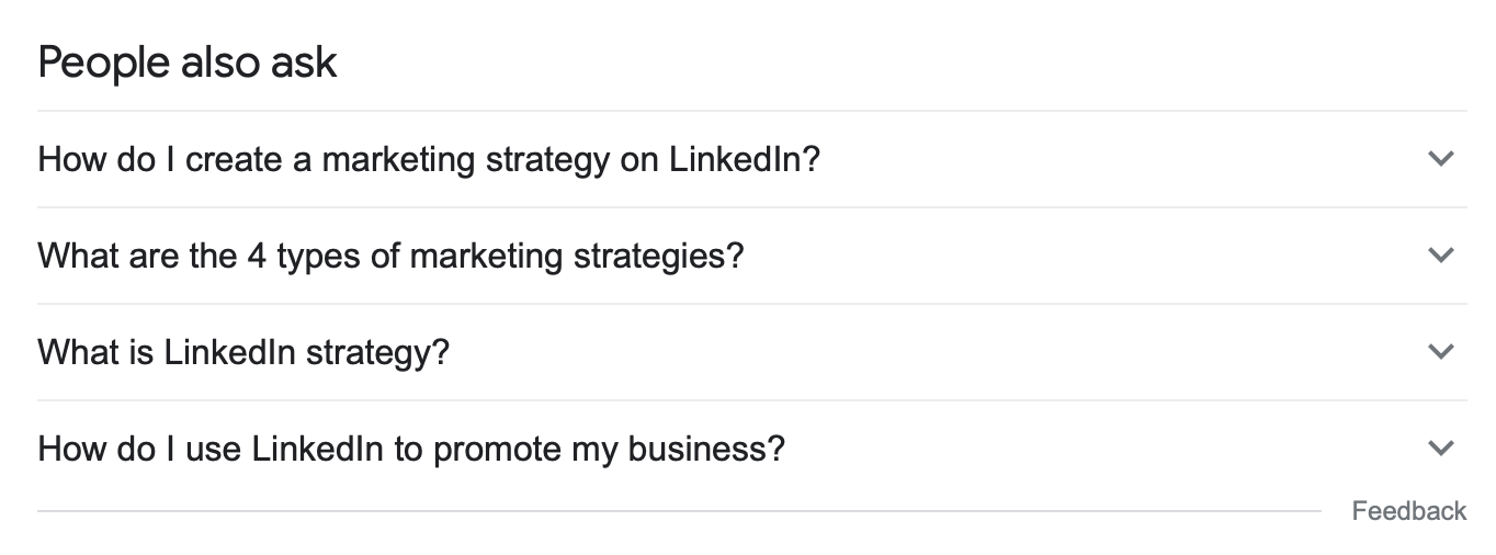 google people also ask content ideas