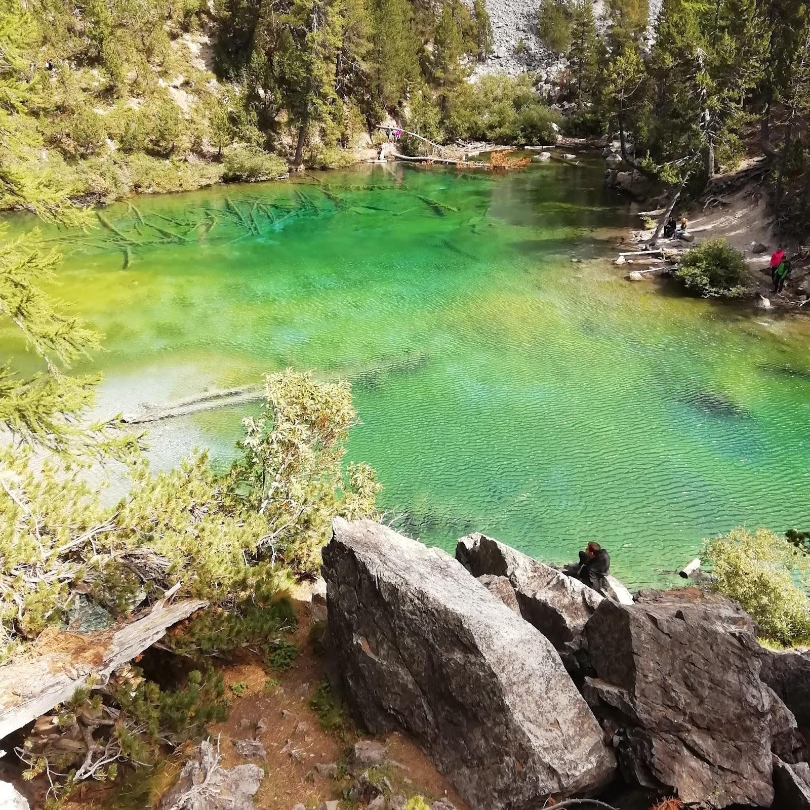 photo du lac vert