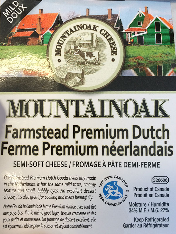 Mountainoak Cheese - Farmstead Premium Dutch Semi-soft Cheese – Mild