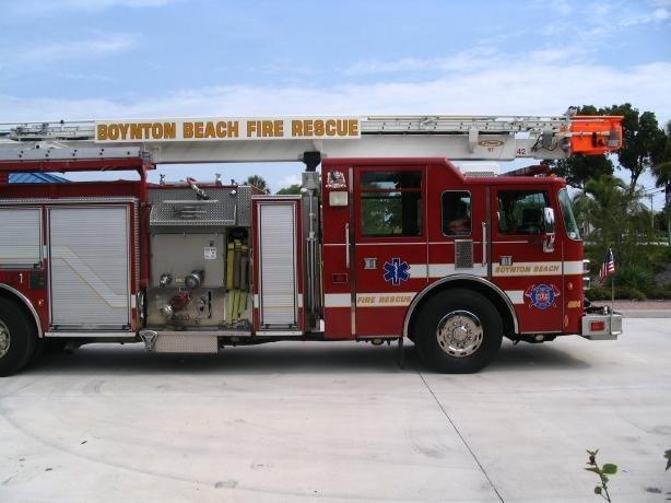 sideview design of a boynton beach fire rescue