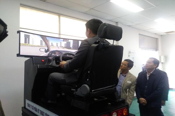 Cabin tập lái 3D - mô phỏng lái xe