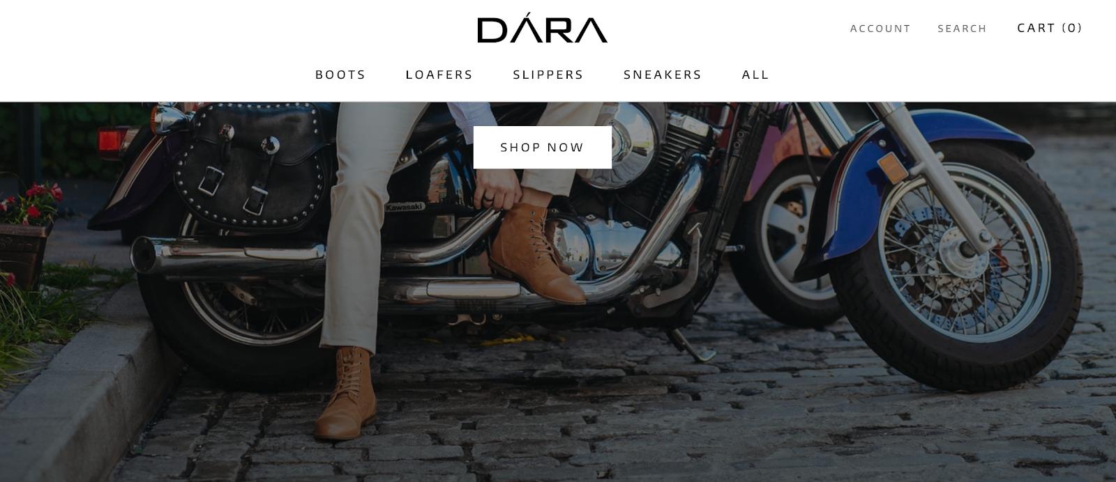 DARA Shoes   Online Footwear Brand