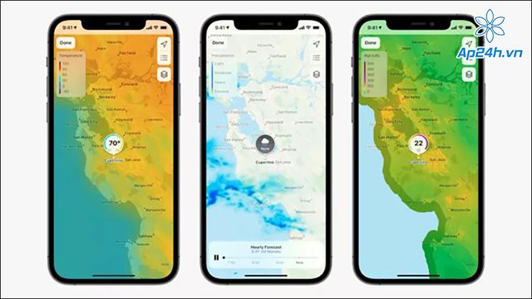 Cải tiến Apple Map