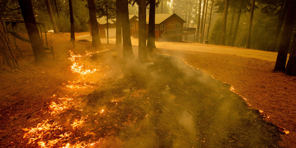Caldor Fire forces thousands more to evacuate, grows more than 10 times in  size in 2 days