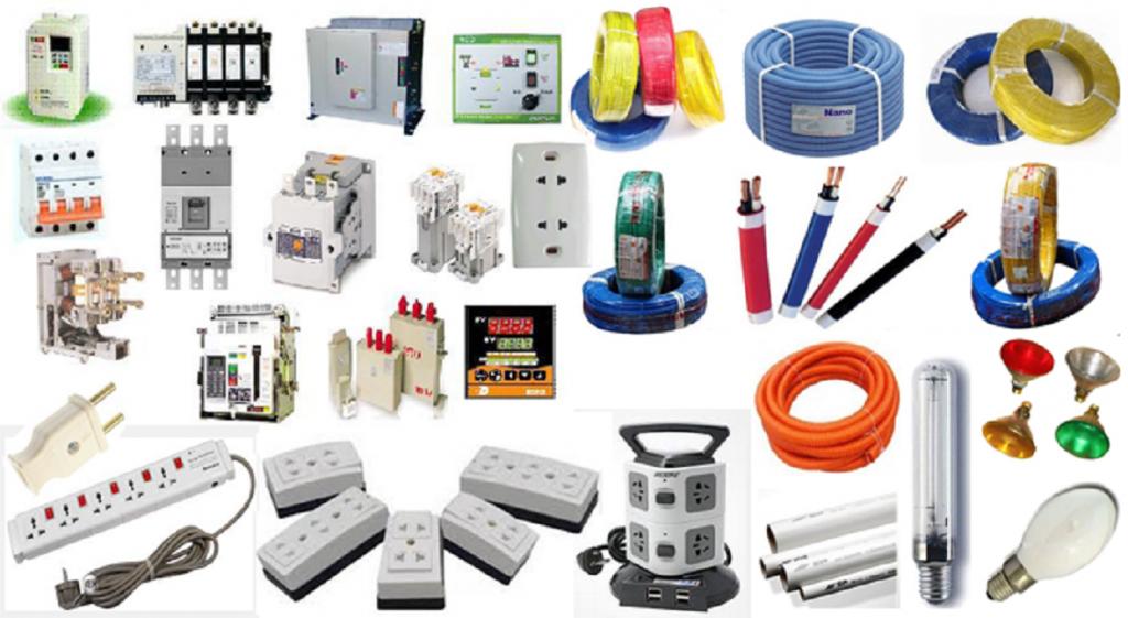 Thiết bị điện dân dụng có rất nhiều loại