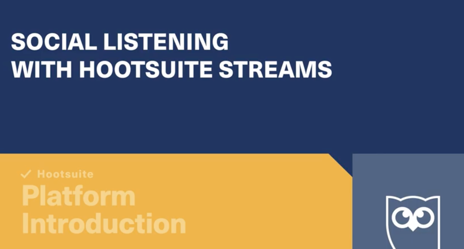Hootsuite's Social Listening with Hootsuite Streams
