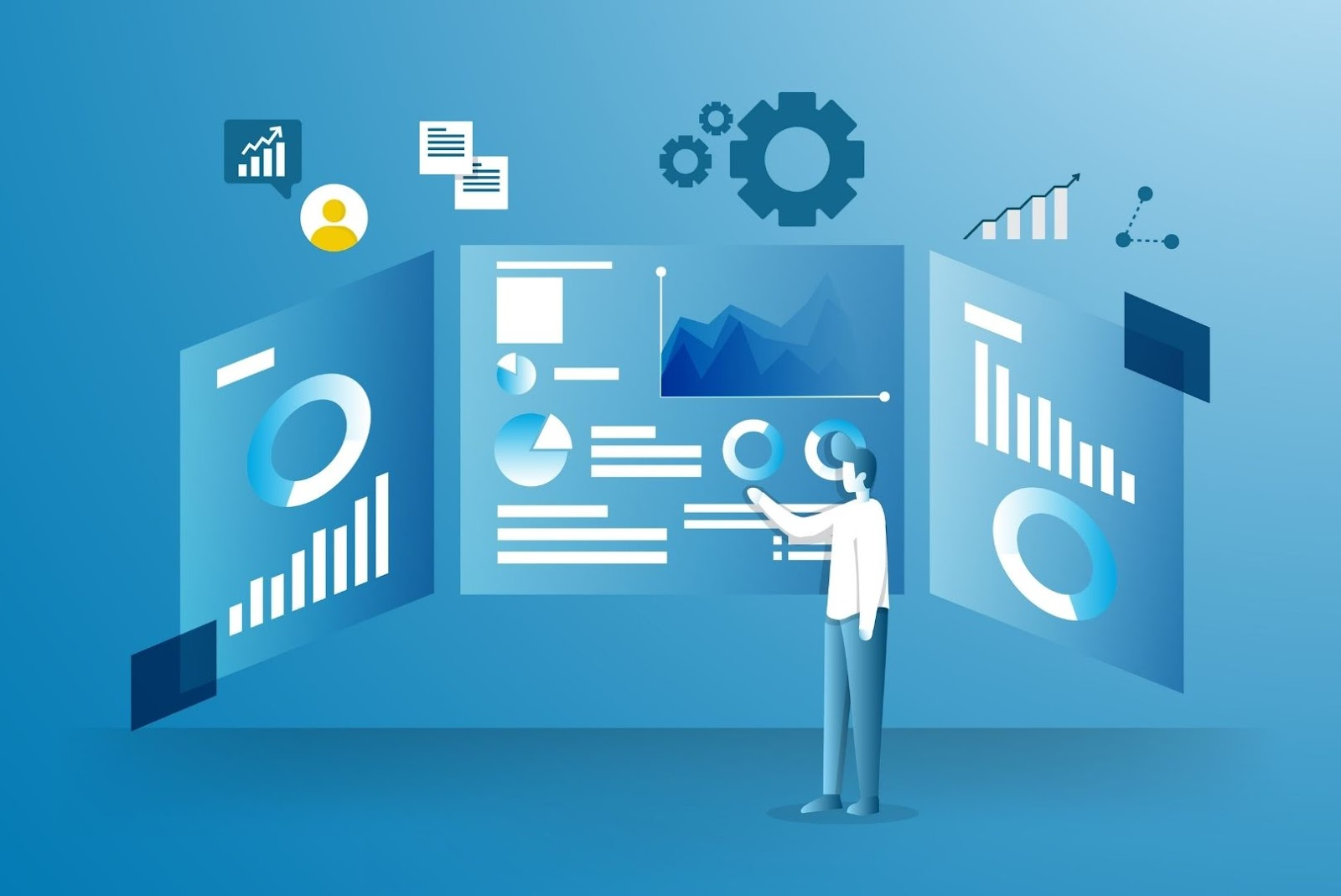 Different types of business intelligence dashboards