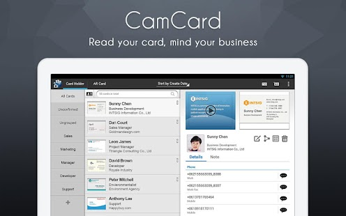 CamCard – Business Card Reader apk Free