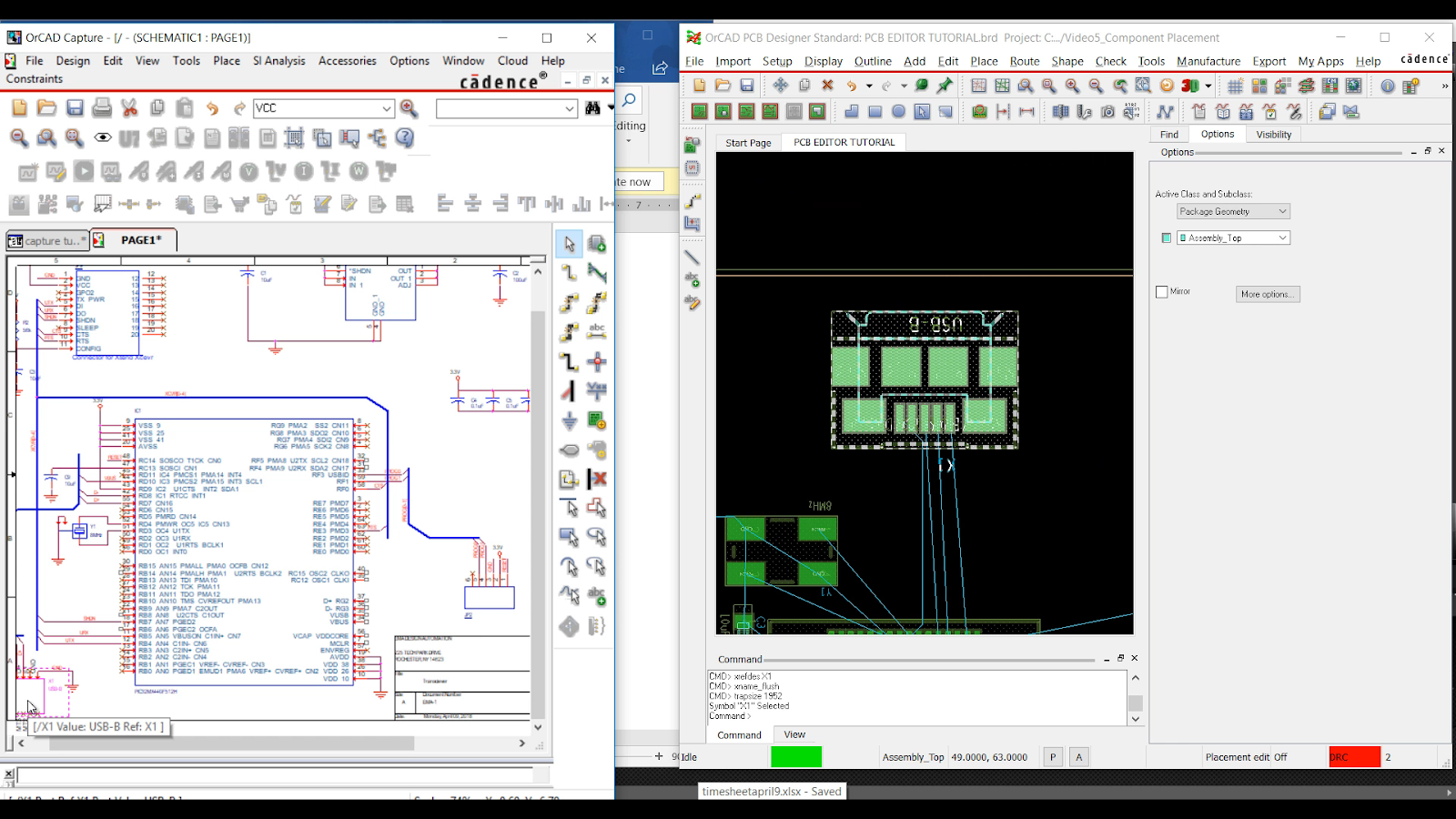 Cross Probing, Intertool Communication, and PCB Design on