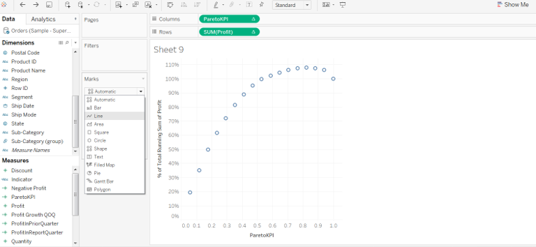 Pareto Chart In Tableau 36
