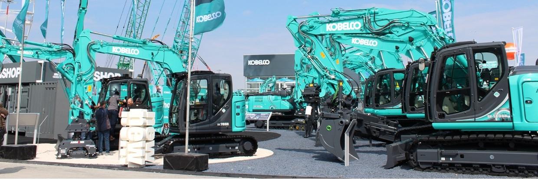 Bình Minh - phân phối máy xúc Kobelco chính hãng, chất lượng