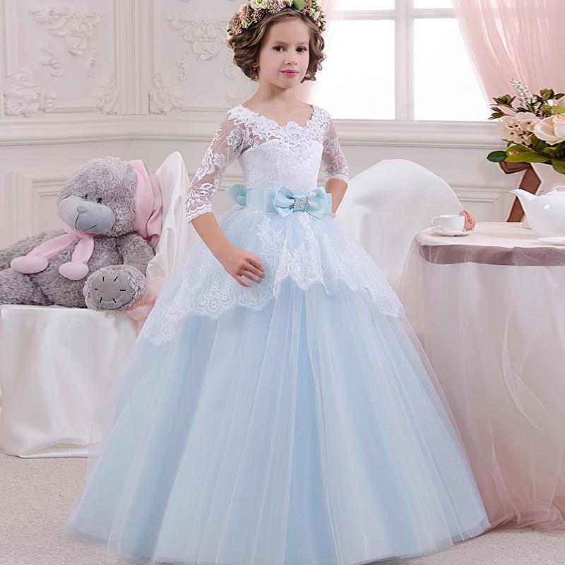 da31336cd4 Nie możesz przegapić 59 modeli tych ładnych sukienek dla dziewczynek ...