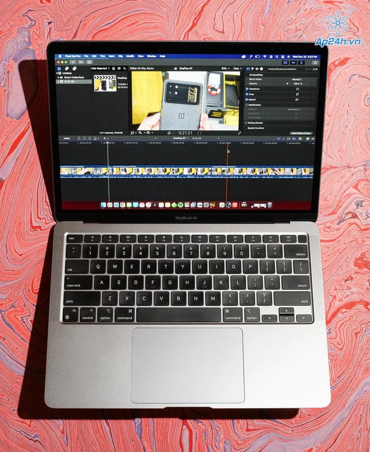 Khả năng xử lý video mạnh mẽ của MacBook Air M1