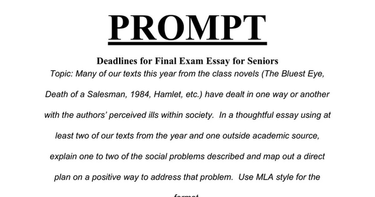 thoughtful essay