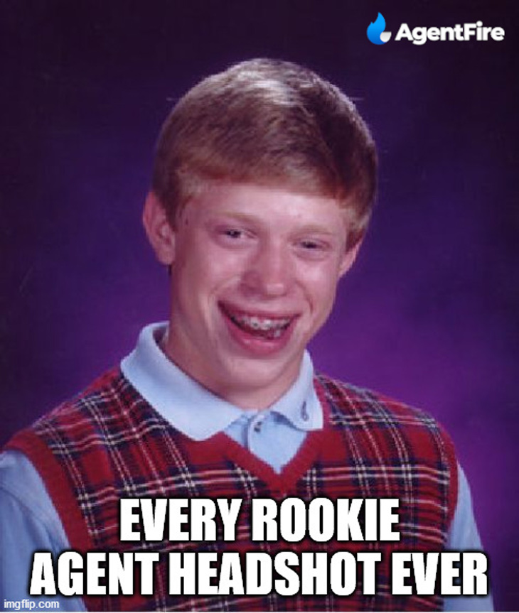 Every rookie agent headshot ever