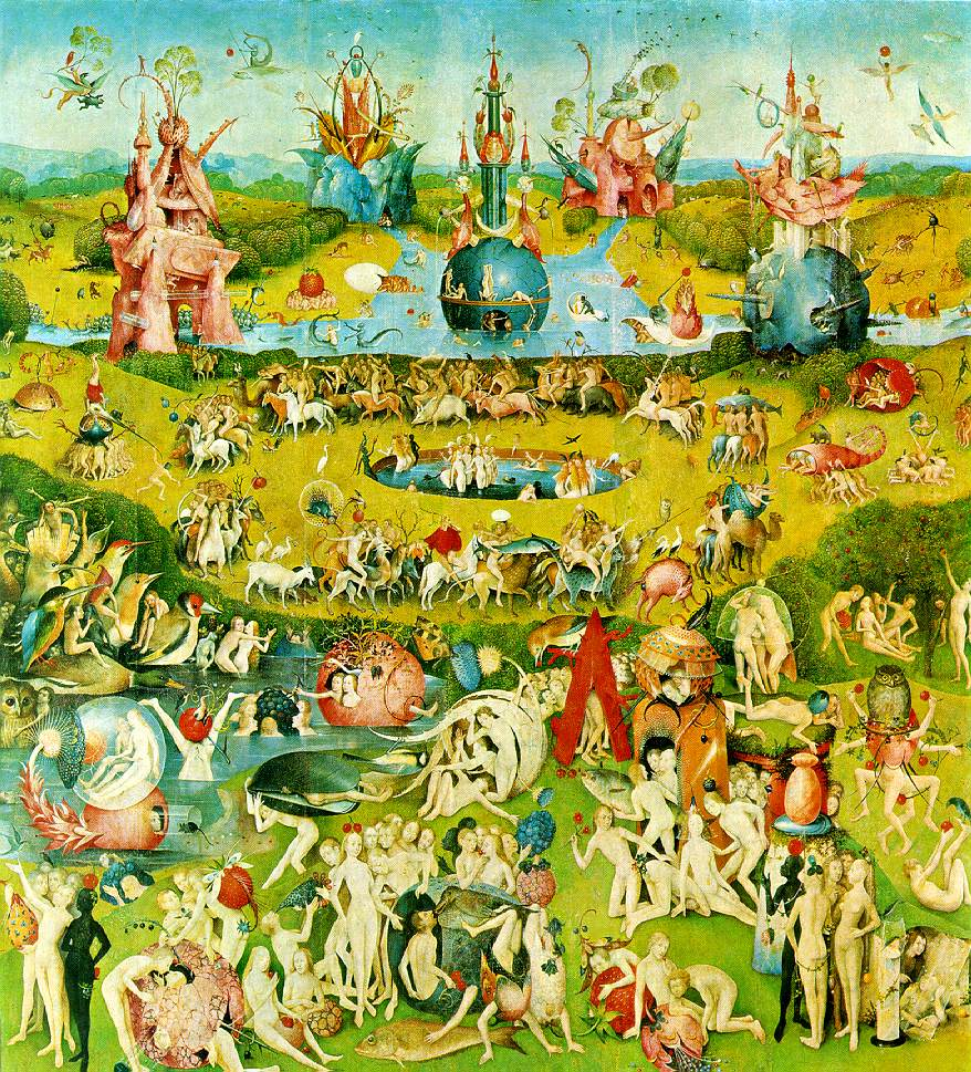 Image result for garden of earthly delights second panel