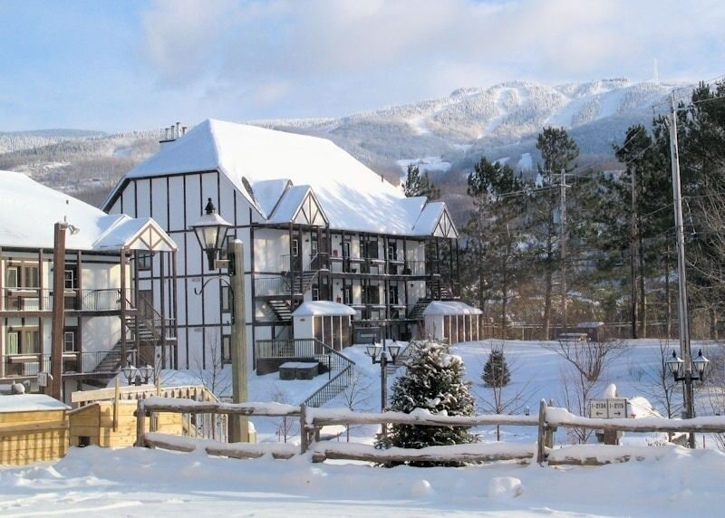 Cottages for rent near a ski mountain in Mont-Tremblant #8