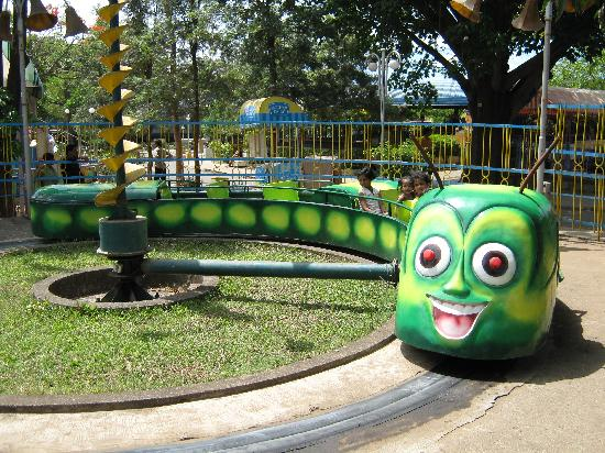 ride caterpillar- children ride in essel world mumbai