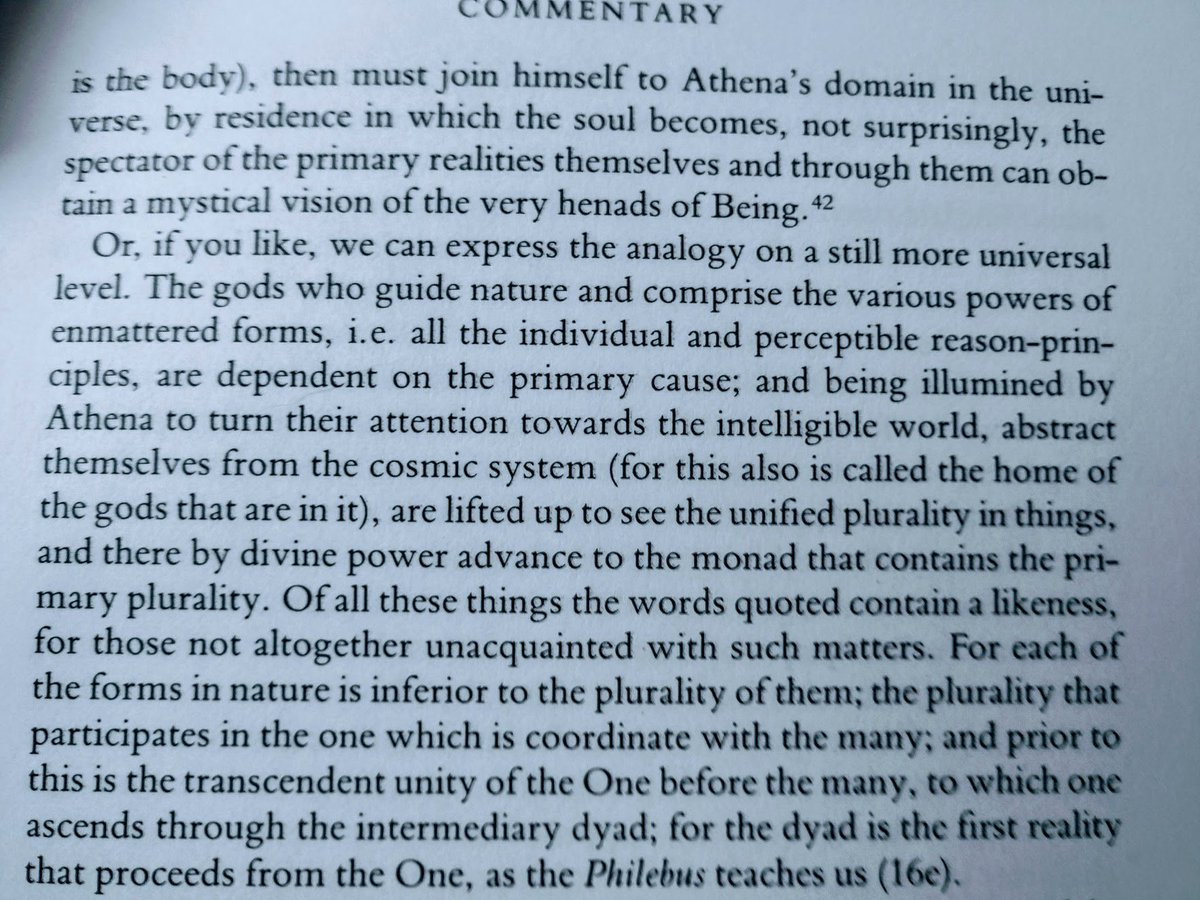 Page 49 of the commentary on the Parmenides, the partial paragraph + first full paragraph from the top.