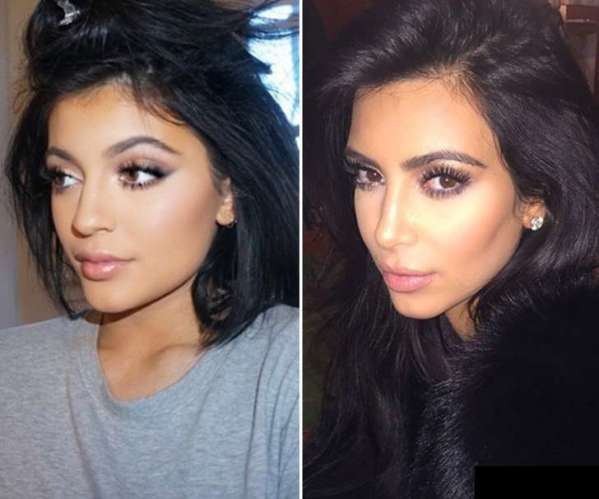 Kylie might be thinking that Kim has stolen her looks.