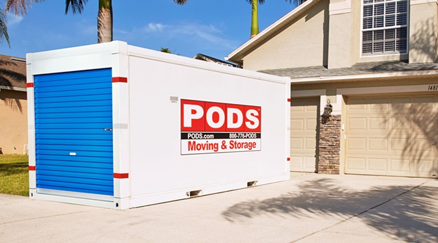 moving PODS container
