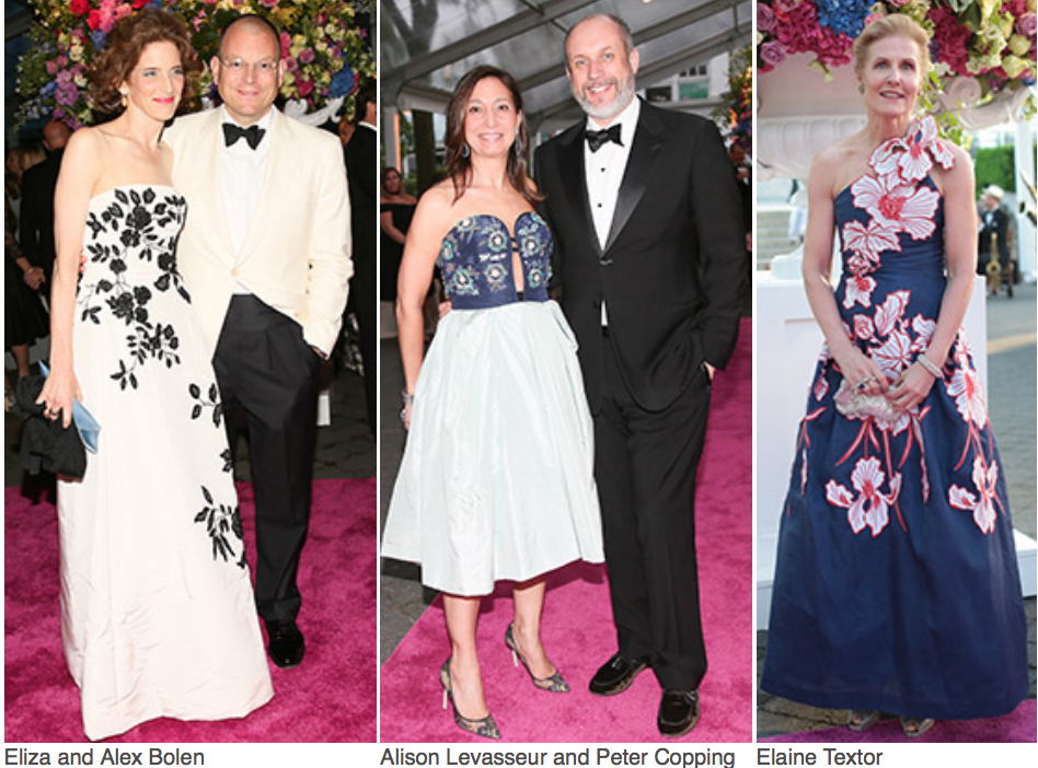Karen Klopp and Hilary Dick article for New York Social Diary, New York Botanical Garden, Conservatory Ball, Georgia O'Keefe. Eliza & Alex Bolen,
