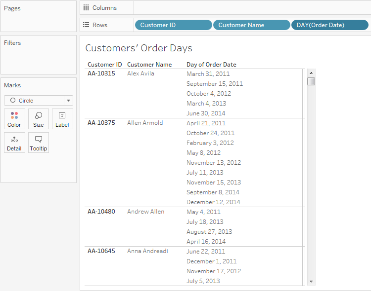 LOD in Tableau Use Case 4 - Customer Second Purchase Analysis 30