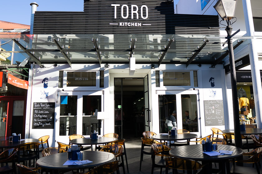Toro Kitchen, a great mid-range restaurant in Queenstown.