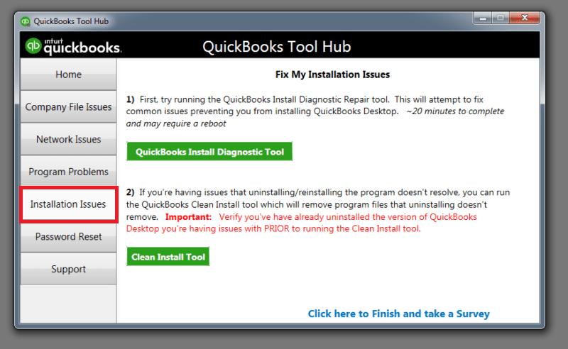 Quickbooks Tool Hub : Installatio issue