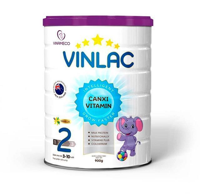 Phân loại Sữa Vinlac cho trẻ từ 0 đến 10 tuổi hiện nay 3