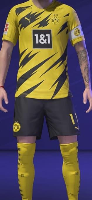 FIFA 21 Dortmund Home kit