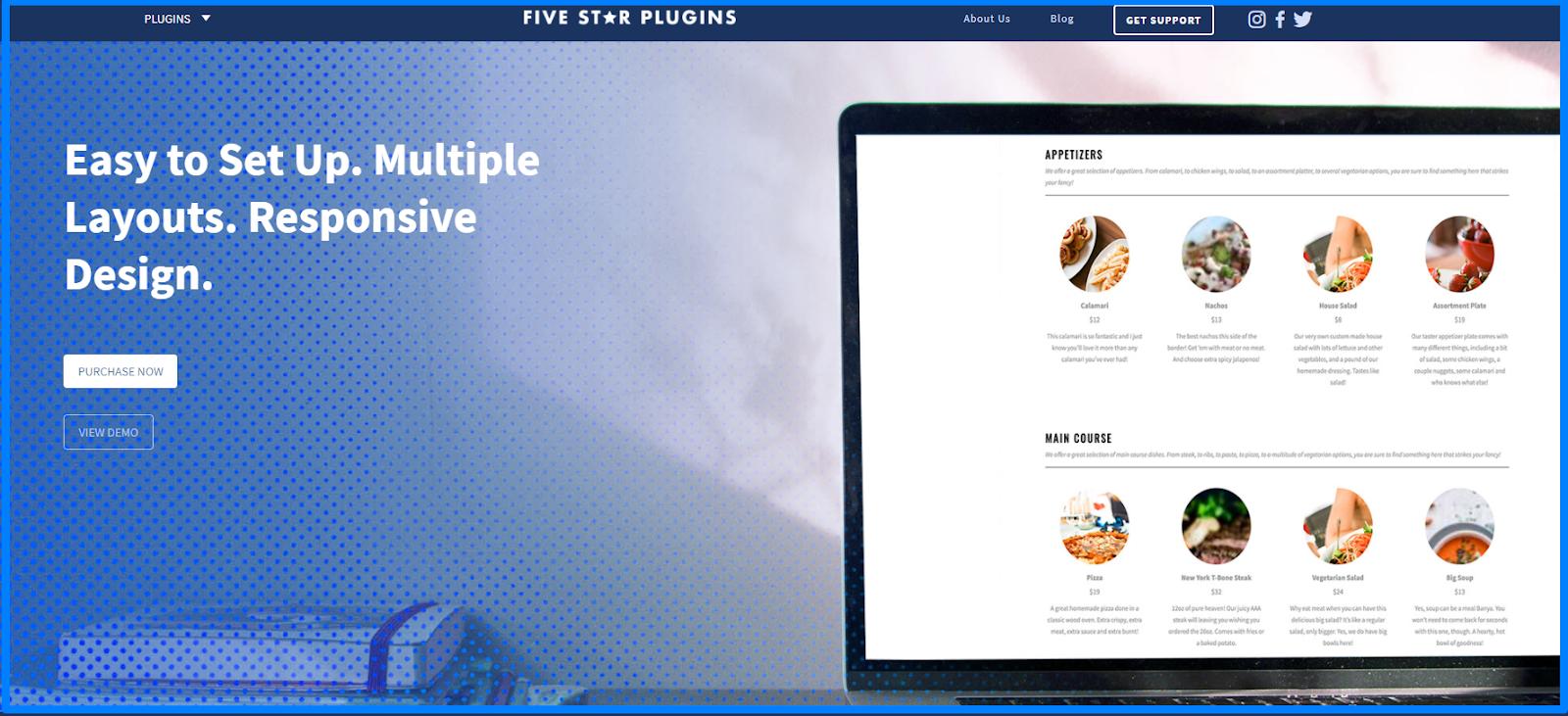 Best Restaurant Menu WordPress plugins