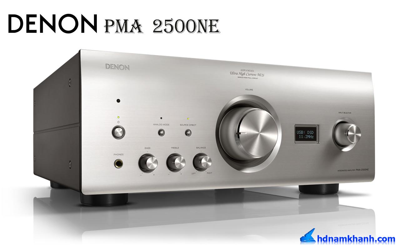 Amply Denon PMA-2500NE, amply nghe nhạc cao cấp nhất của Denon.