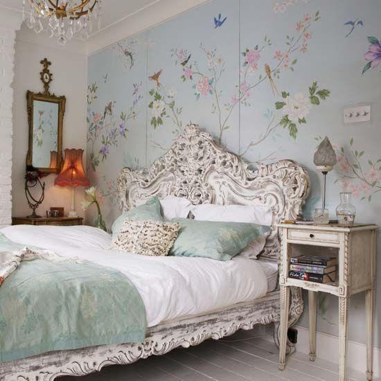 Dekorasi Kamar Tidur dengan Konsep Vintage – source: www.digsdigs.com