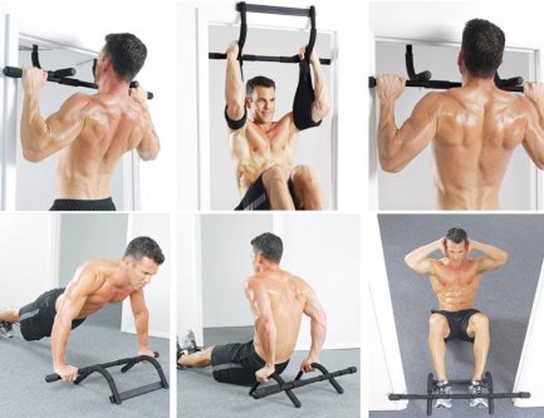 Xà đơn gắn cửa đa năng cải thiện cơ bắp cho người lớn