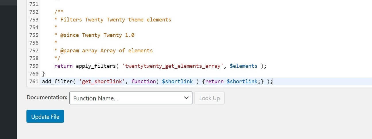How to find functions.php and add snippet in WordPress