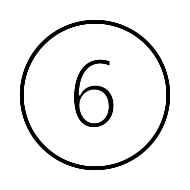 Marke 6 Silhouette