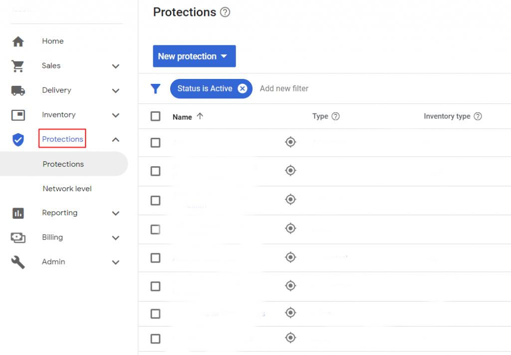 Google Ad Manager Blocking