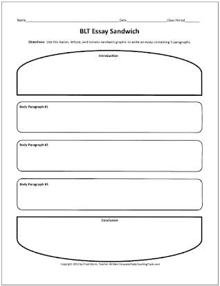 Narrative Essay Graphic Organizer 7th Grade