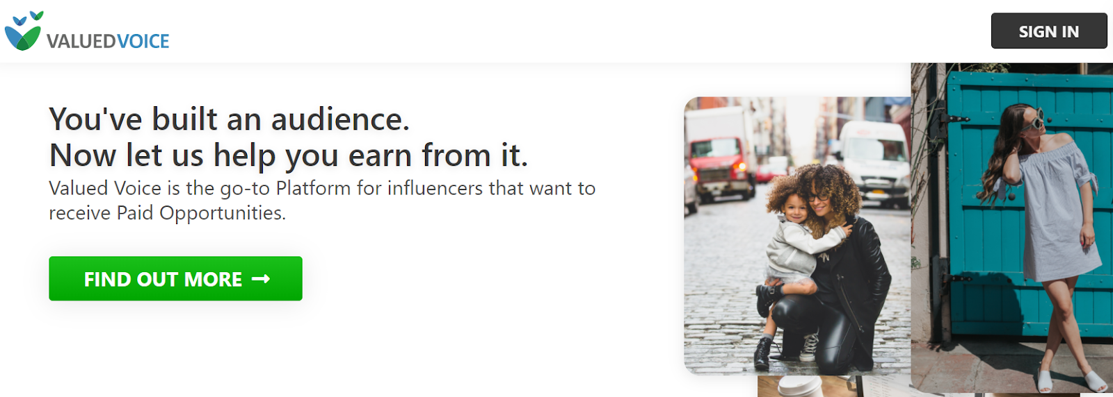 ValuedVoice for influencer marketing