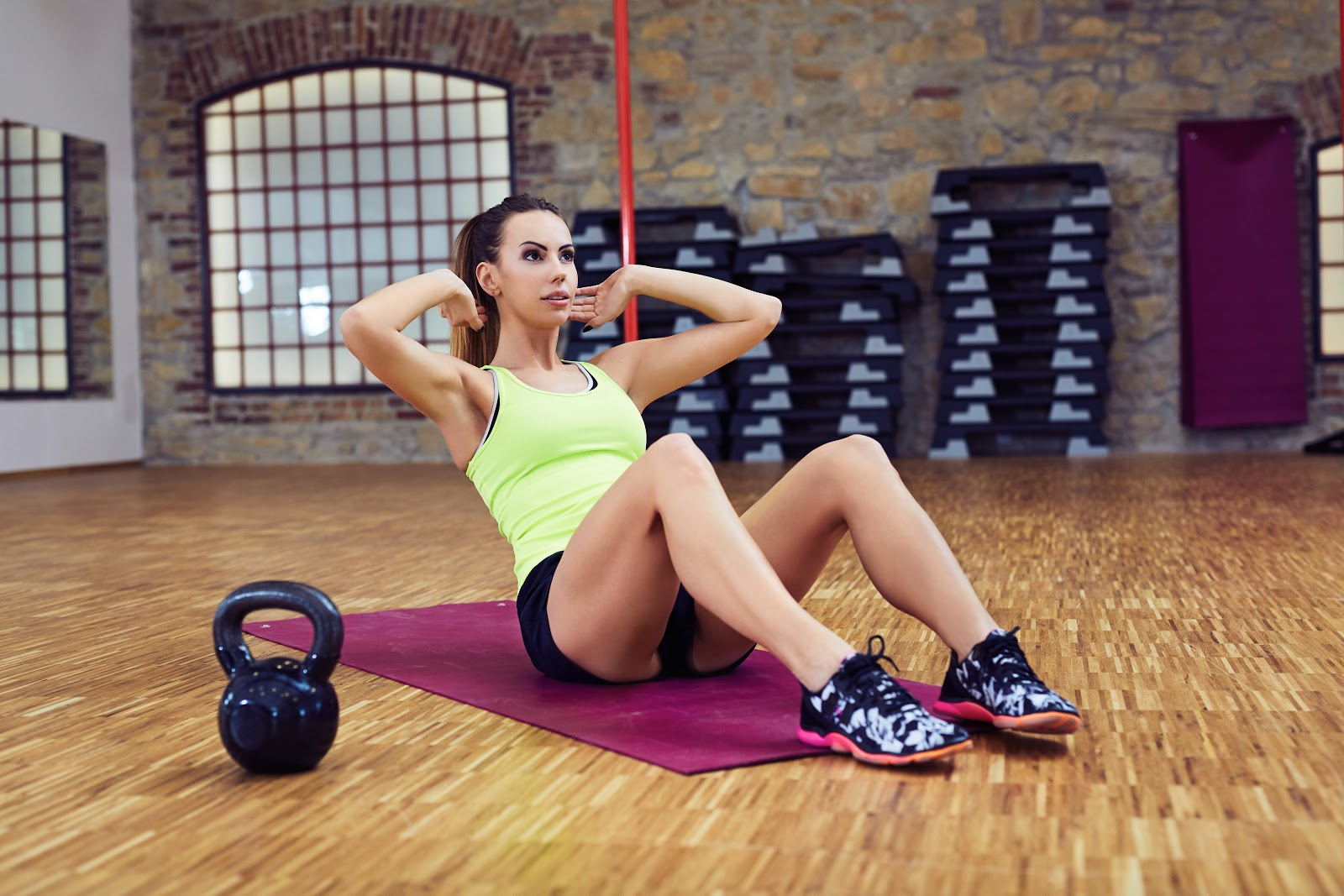 30 Day Ab Squat Challenge
