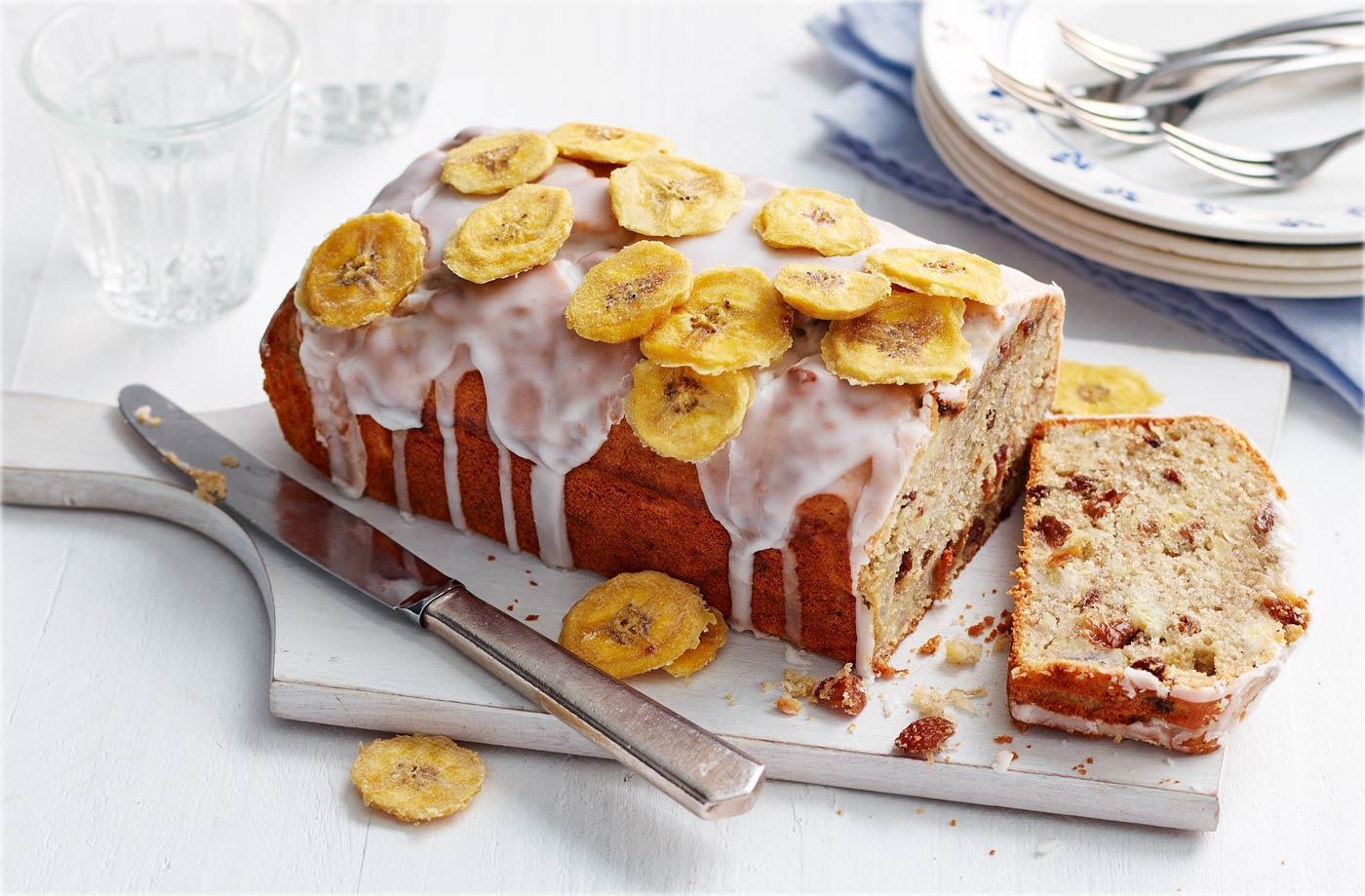 3. Resep Fruit Cake Rendah Kalori - Gluten-Free Steamed Banana Cake