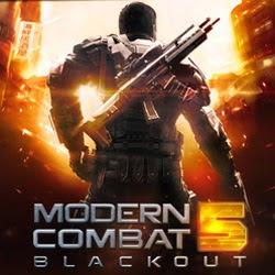 Modern Combat 5: Blackout 1.2.0 - Portugues BR - Torrent (2015) Completo Celular / Android