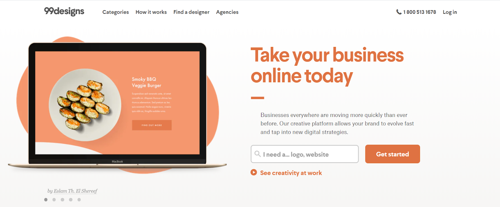 99Designs Review - Take Your Business Online Today