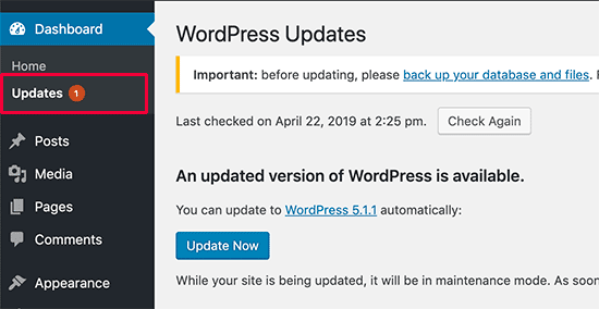 How to Secure WordPress site - Secure Updates