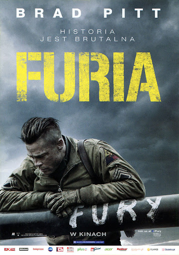 Przód ulotki filmu 'Furia'