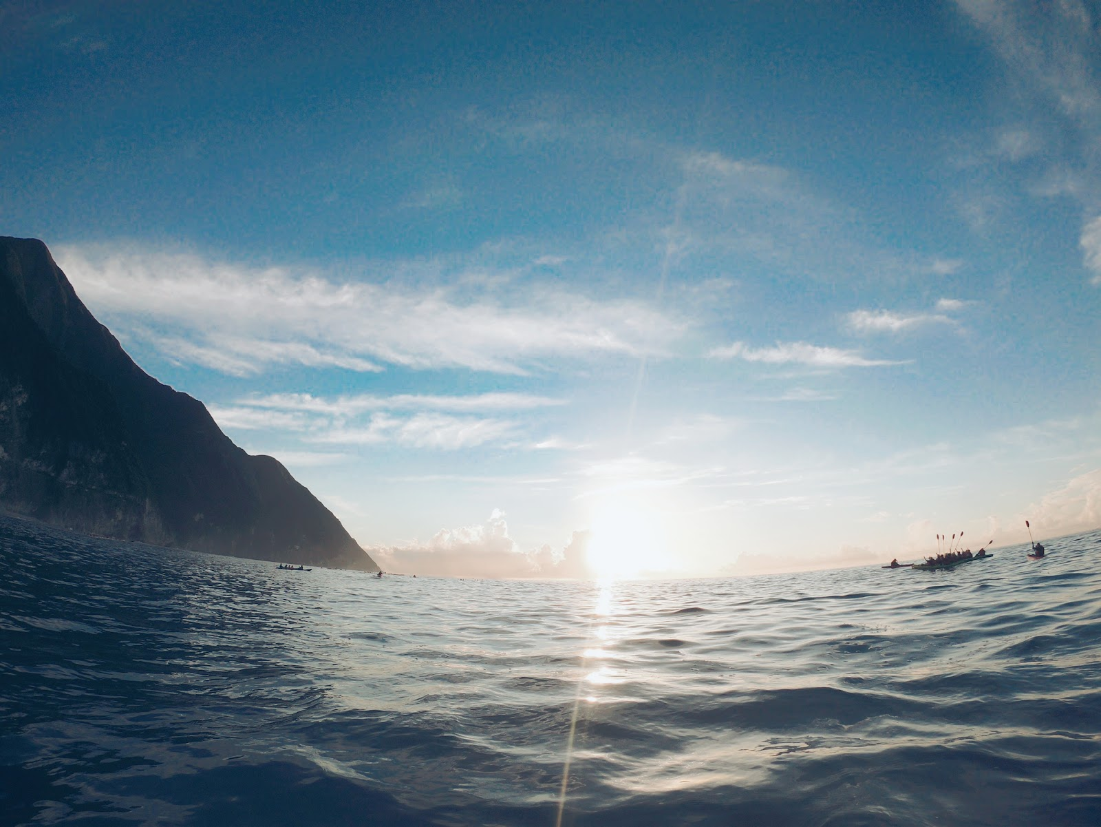 清水斷崖日出
